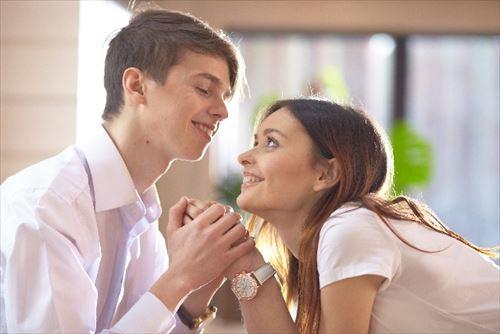 言葉よりも行動で愛情を示す!