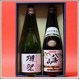 獺祭純米大吟醸 磨き50+八海山本醸造 日本酒飲み比べセット