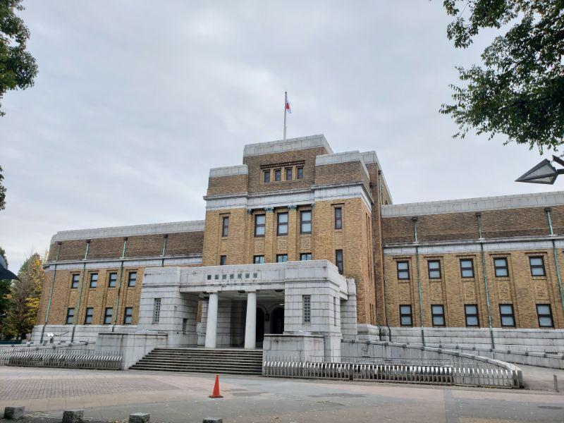 国立科学博物館外観